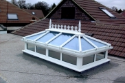 White UPVC Roof Lantern