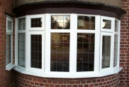 Leaded Bay window