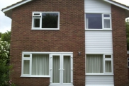 White UPVC Windows with Cladding